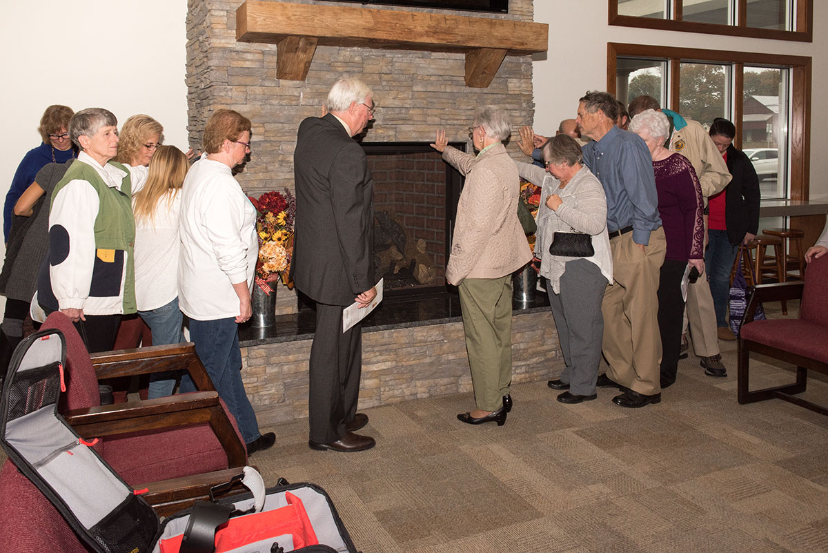 Gravel Hill Fireplace & TV Dedication