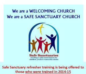 Safe Sanctuaries Refresher Course